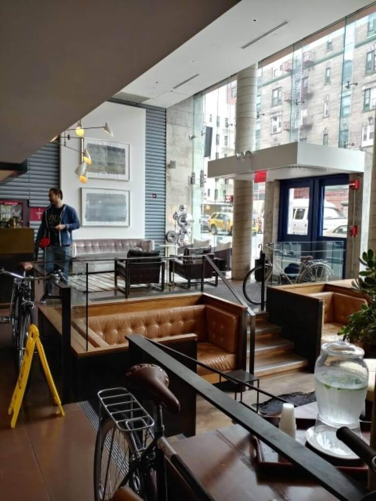 the Nolitan hotel - lobby