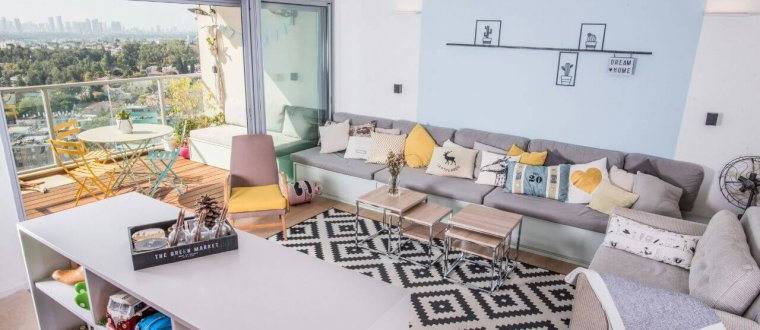 דירה בצפון תל אביב – עיצוב ואדריכלות פנים