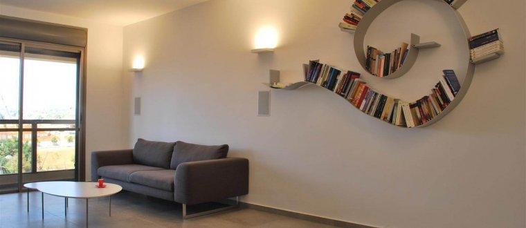 דירה בהוד השרון – עיצוב ואדריכלות פנים