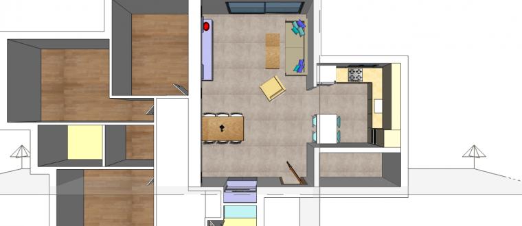 דירה חדשה בפתח תקווה – עיצוב ואדריכלות פנים