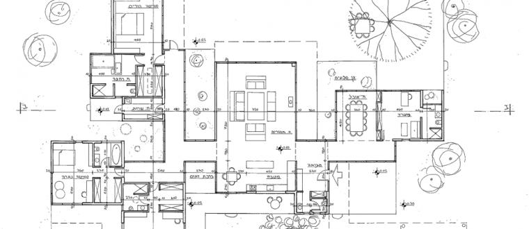 וילה יפנית – תכנון אדריכלות
